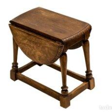 Antigüedades: ESTUPENDA MESA INGLESA, DE ALAS, PLEGABLE, EN EXCELENTE ESTADO. Lote 144244166