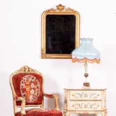 Antigüedades: SILLÓN ANTIGUO FRANCÉS LUIS XVI. Lote 144311686