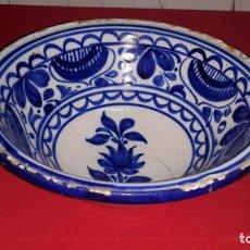 Antigüedades: CUENCO DE CERÁMICA VALENCIANA SIGLO XIX. Lote 144318806