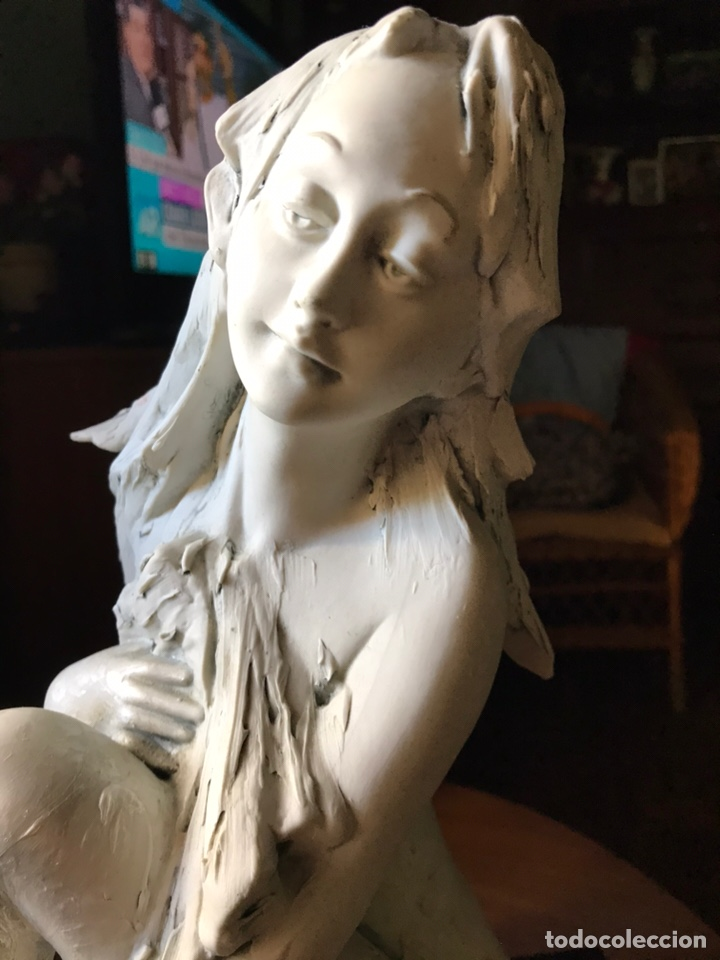 Antigüedades: Figura de porcelana de biscuit-Flavia Vera-diseño de Barbetta , - Foto 2 - 144328425