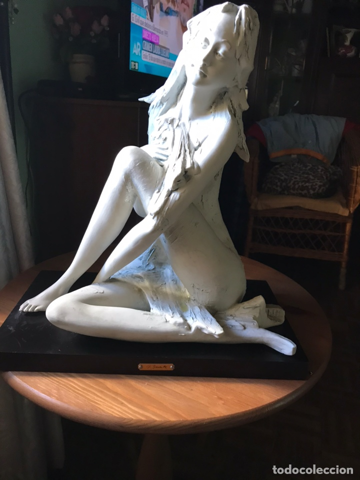 Antigüedades: Figura de porcelana de biscuit-Flavia Vera-diseño de Barbetta , - Foto 5 - 144328425