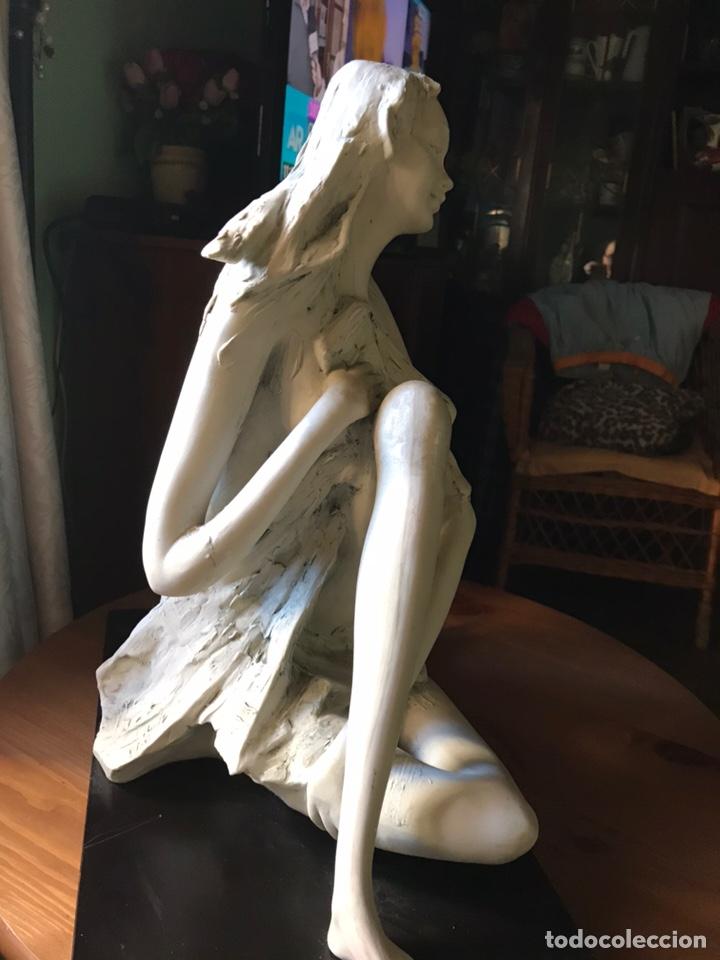 Antigüedades: Figura de porcelana de biscuit-Flavia Vera-diseño de Barbetta , - Foto 10 - 144328425