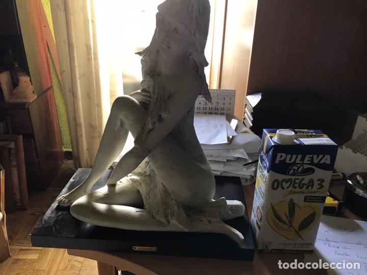 Antigüedades: Figura de porcelana de biscuit-Flavia Vera-diseño de Barbetta , - Foto 11 - 144328425