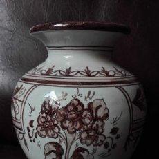 Antigüedades: LOS NARDOS TALAVERA ESPAÑA JARRÓN DE CERÁMICA. Lote 144337094