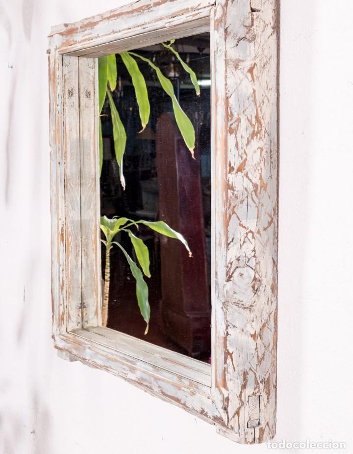 Antigüedades: Espejo Antiguo Restaurado Mathias - Foto 2 - 144338774