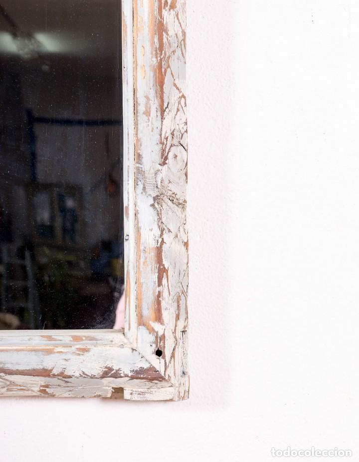 Antigüedades: Espejo Antiguo Restaurado Mathias - Foto 4 - 144338774