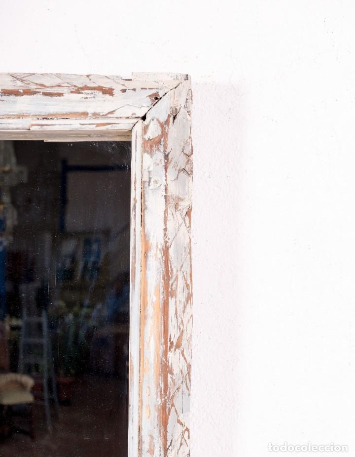 Antigüedades: Espejo Antiguo Restaurado Mathias - Foto 5 - 144338774