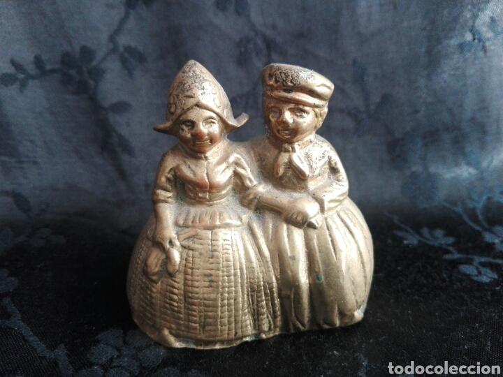CAMPANA HOLANDESES EN BRONCE (Antigüedades - Hogar y Decoración - Campanas Antiguas)