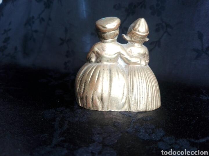 Antigüedades: Campana holandeses en bronce - Foto 2 - 144346664