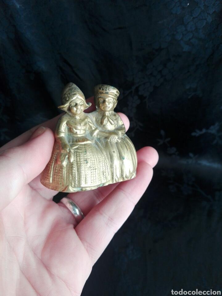 Antigüedades: Campana holandeses en bronce - Foto 3 - 144346664
