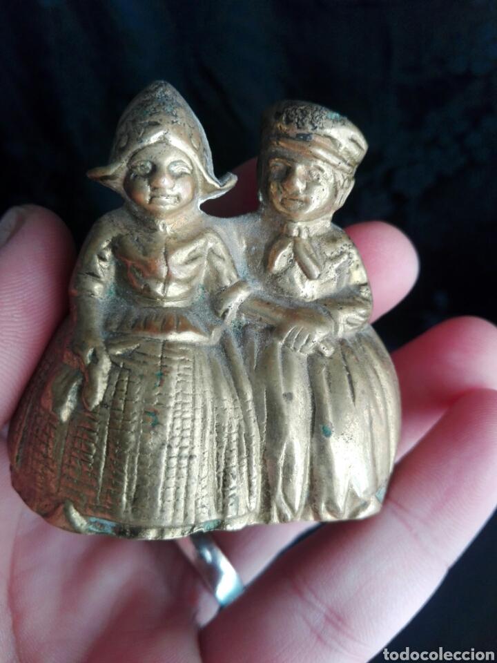 Antigüedades: Campana holandeses en bronce - Foto 4 - 144346664