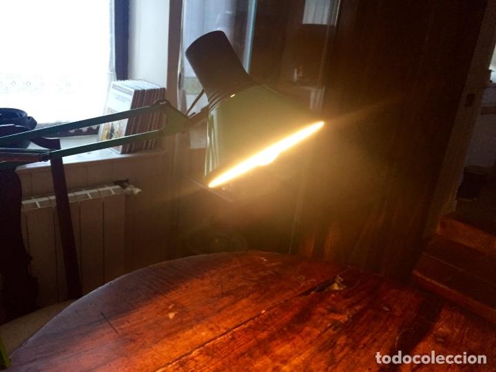 Antigüedades: Lámpara flexo mesa arquitecto - Foto 6 - 144386841