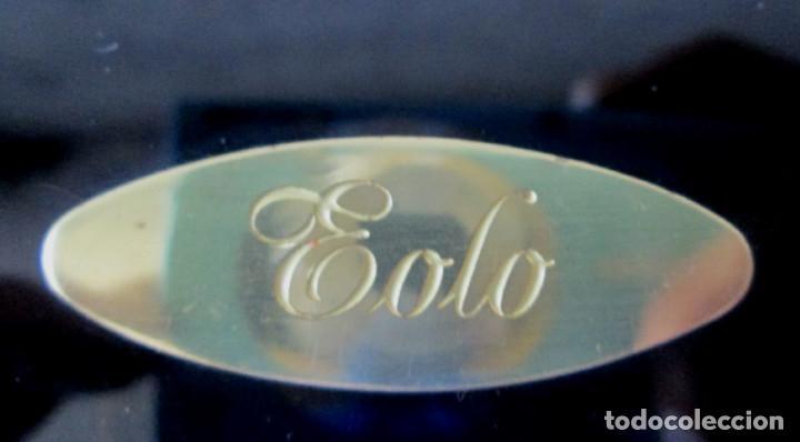 Antigüedades: Escultura de cristal la base de cristal EOLO -- Artesanía cristal viriato - Foto 4 - 144397754