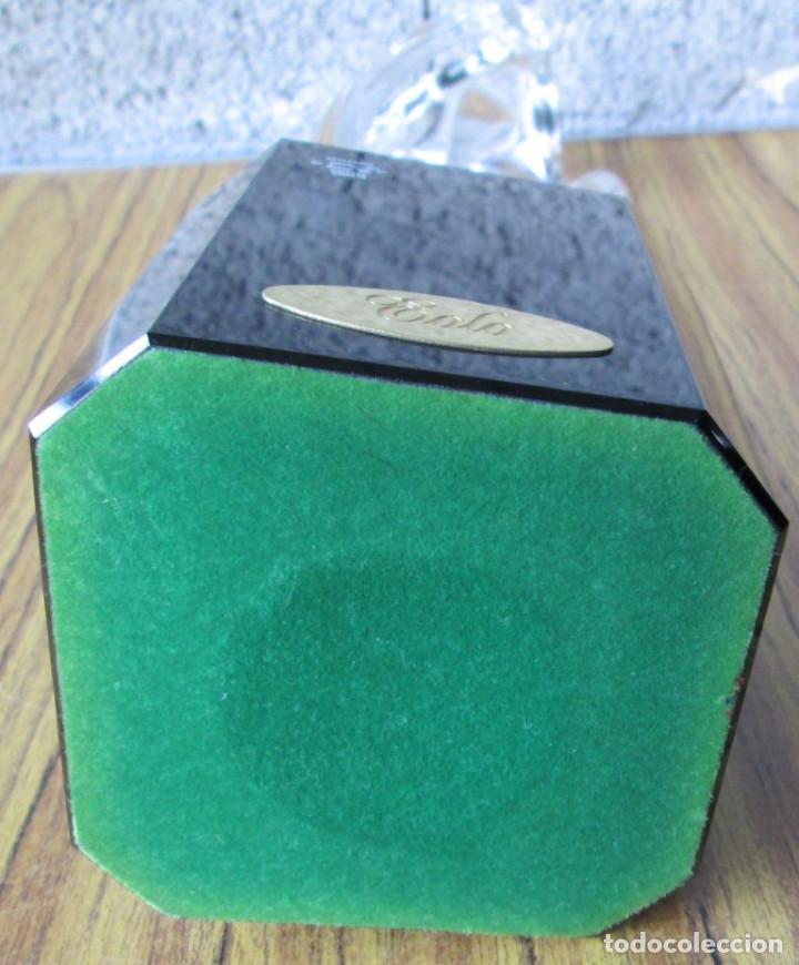 Antigüedades: Escultura de cristal la base de cristal EOLO -- Artesanía cristal viriato - Foto 6 - 144397754