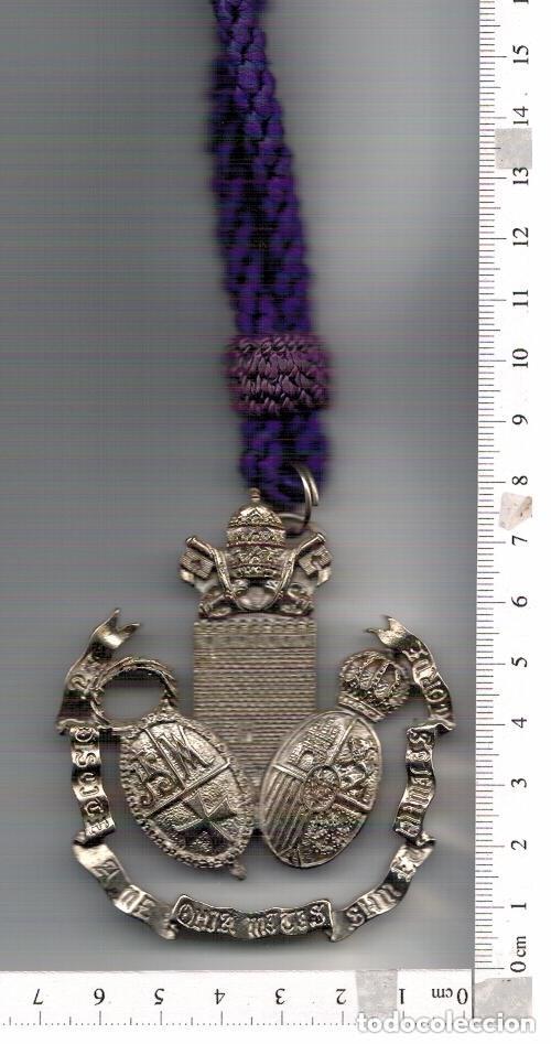MEDALLA DE LA HERMANDAD DE NTRO, PADRE JESUS DE LA ALGABA , SEVILLA SEMANA SANTA (Antigüedades - Religiosas - Medallas Antiguas)