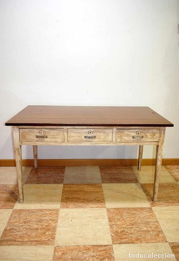 antigua mesa de cocina - vintage - Comprar Mesas Antiguas en ...