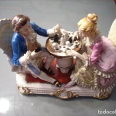 Antigüedades: PORCELANA FINA JAPONESA KATO KOGEI DE GRAN TAMAÑO.. Lote 144448886