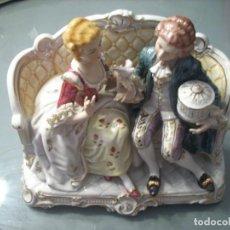 Antigüedades: PORCELANA FINA JAPONESA KATO KOGEI DE GRAN TAMAÑO. PERFECTA. Lote 144449526