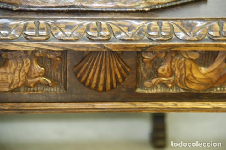 Antigüedades: Expléndida mesa de despacho - Foto 4 - 144453398