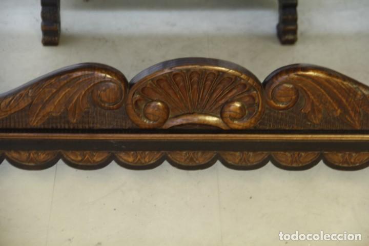 Antigüedades: Expléndida mesa de despacho - Foto 5 - 144453398