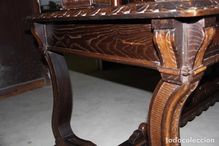 Antigüedades: Expléndida mesa de despacho - Foto 11 - 144453398
