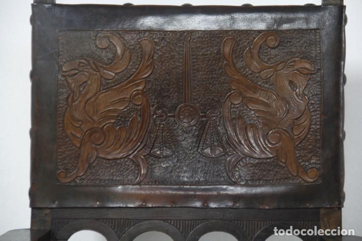 Antigüedades: Expléndida mesa de despacho - Foto 14 - 144453398