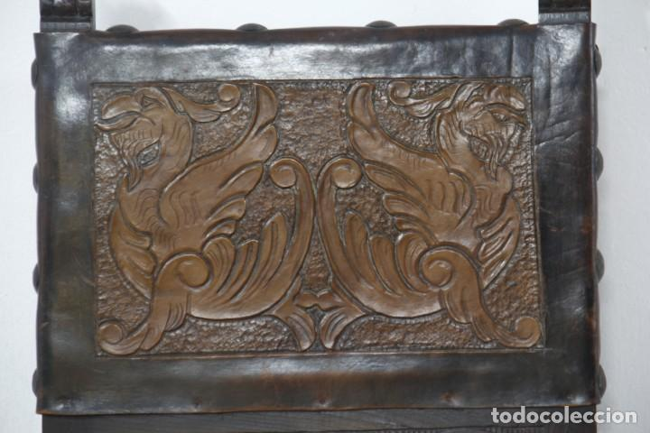 Antigüedades: Expléndida mesa de despacho - Foto 17 - 144453398