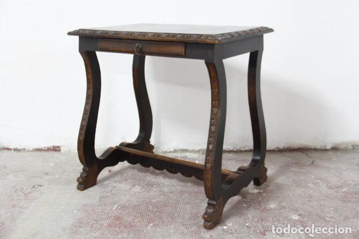 Antigüedades: Expléndida mesa de despacho - Foto 18 - 144453398