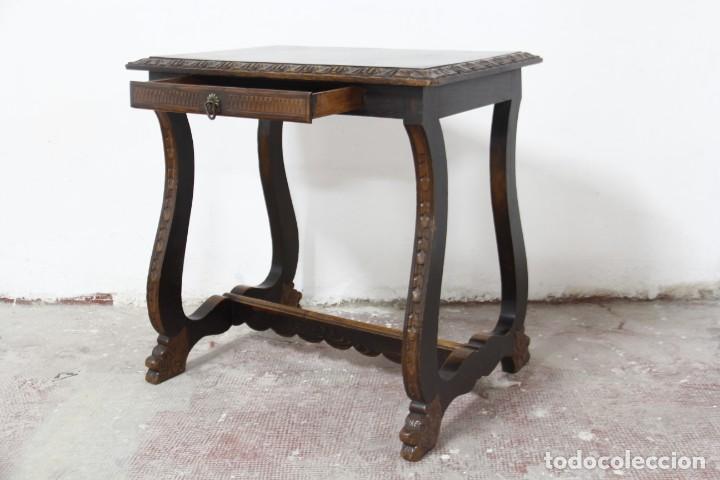 Antigüedades: Expléndida mesa de despacho - Foto 19 - 144453398
