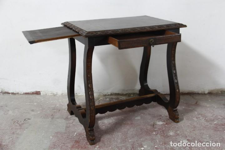 Antigüedades: Expléndida mesa de despacho - Foto 20 - 144453398