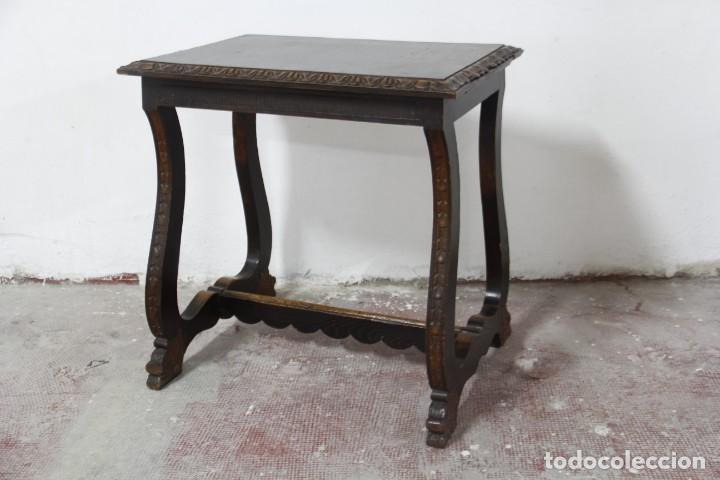 Antigüedades: Expléndida mesa de despacho - Foto 21 - 144453398