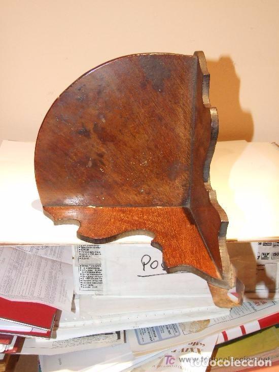 Antigüedades: REPISA RINCONERA DE CAOBA - Foto 4 - 144457206