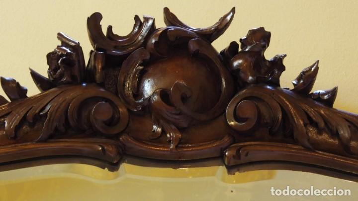 Antigüedades: MUEBLE RECIBIDOR MODERNISTA - Foto 6 - 144473166