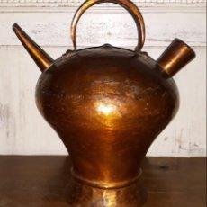 Antigüedades: BOTIJO DE COBRE. Lote 144475154
