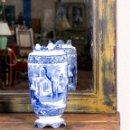 Antigüedades: JARRÓN DE CERÁMICA ABBEY. Lote 144475234