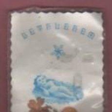 Antigüedades: RECUERDO DE BELEN - BETLEM - SOBRE COMPLETO CON LA CRUZ - TIERRA Y PIEDRAS DE TIERRA SANTA RELIQUIA. Lote 144481994