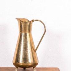 Antigüedades: JARRA ANTIGUA DE LATÓN . Lote 144497506