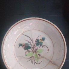 Antigüedades: CARTAGENA, PLATO DEL SIGLO XIX RESTAURADO. Lote 144503370