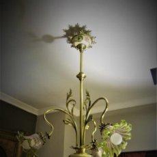 Antigüedades: BELLISIMA LAMPARA. Lote 144529574