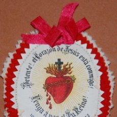 Antigüedades: DETENTE CORAZON DE JESUS AÑOS 20 DEL SIGLO XX-11. Lote 144542094