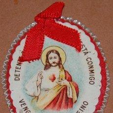 Antigüedades: DETENTE CORAZON DE JESUS PERIODO GUERRA CIVIL-12. Lote 144542802