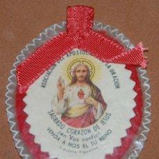Antigüedades: DETENTE CORAZON DE JESUS ASOCIACION APOSTOLADO DE LA ORACION-13. Lote 144543582