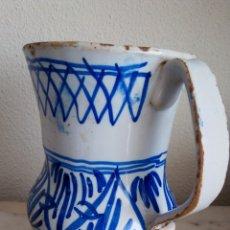 Antigüedades: JARRA CERÁMICA LEVANTINA. ESMALTADA. SIGLO XIX. Lote 144549376