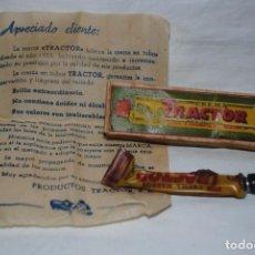Antigüedades: TRACTOR, CREMA PARA EL CALZADO . Lote 144570350