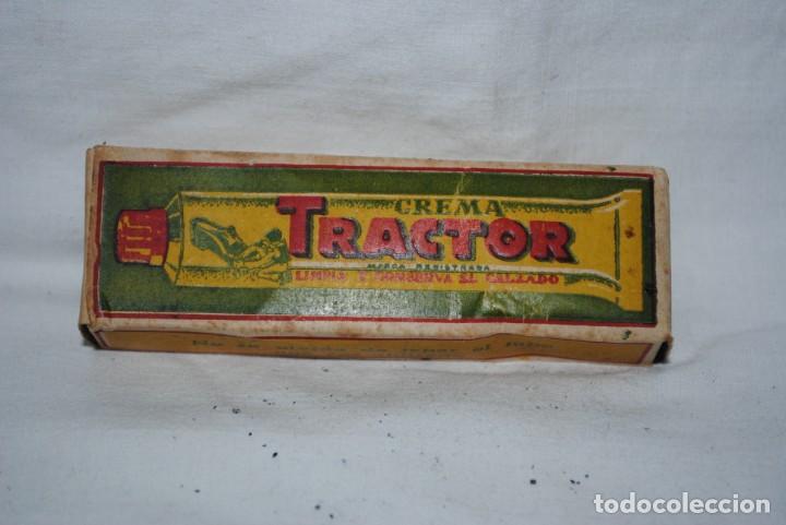 Antigüedades: TRACTOR, CREMA PARA EL CALZADO - Foto 2 - 144570350
