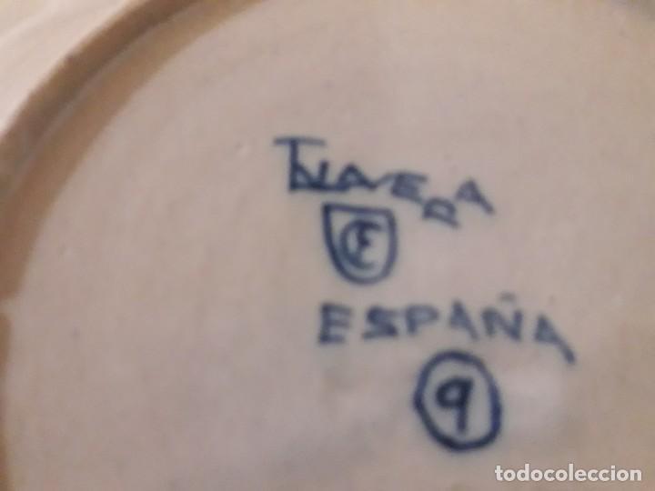 Antigüedades: Plato de cerámica de Talavera - Foto 2 - 144570742