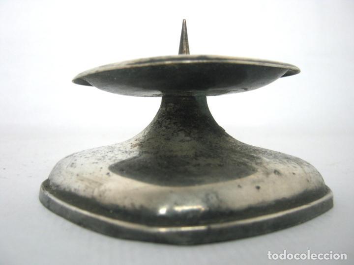 Antigüedades: Antiguo candelabro hachero candelero - aleman WMF - Foto 2 - 144580134