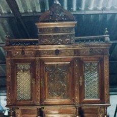 Antigüedades: BUFET ALACENA VITRINA ALFONSINA. Lote 181464851