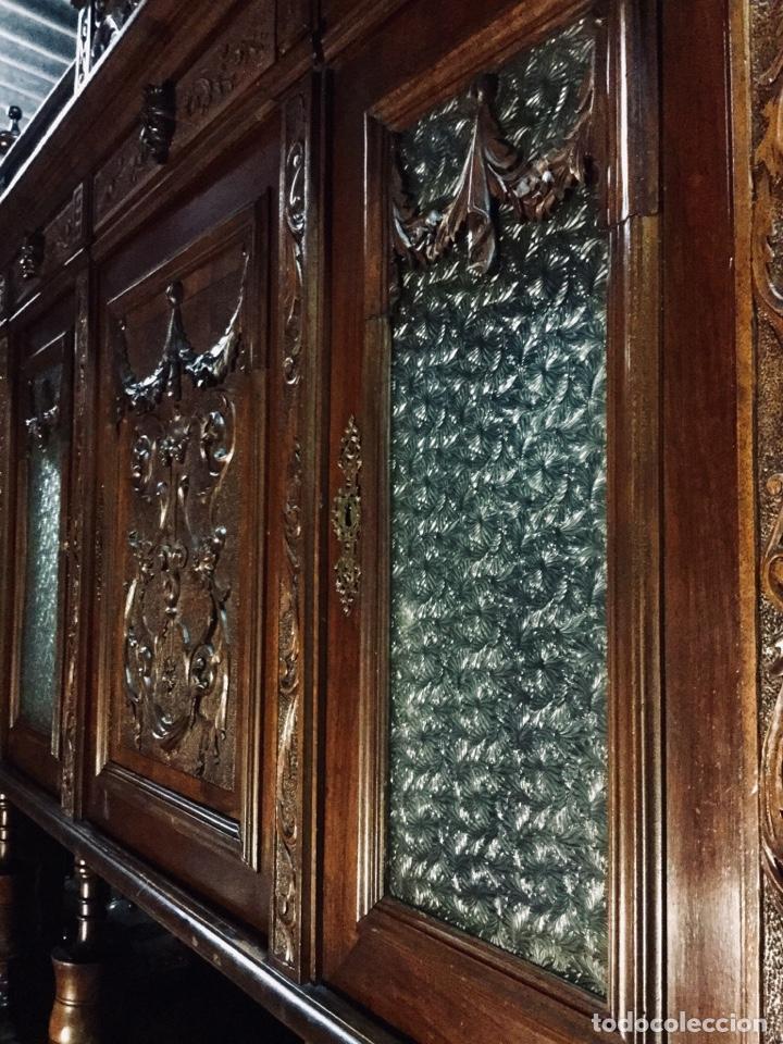 Antigüedades: Bufet Alacena vitrina Alfonsina - Foto 5 - 181464851