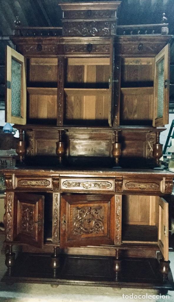 Antigüedades: Bufet Alacena vitrina Alfonsina - Foto 9 - 181464851